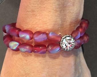 Sparkling Red Bracelet