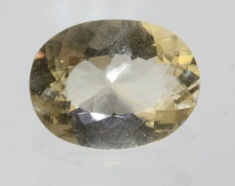 Yellow Oregon Sunstone Natural Untreated VS Gem 15x11 mm Faceted Oval 6.06 carat