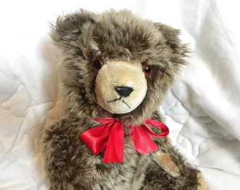 "Vintage Hermann 16"" Bear - 1950's mohair Teddy Bear"