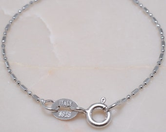 925 Sterling Silver Chain 17.5 inches B1441