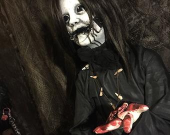 "Creepy Halloween Prop ""Tooth Fairy"" (mouthgear)"