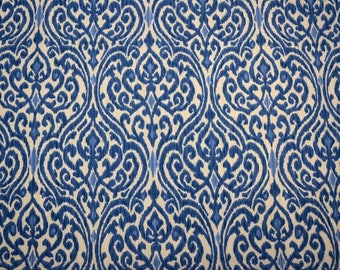 Sri Lanka Indigo Waverly Fabric