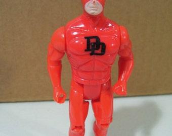 Vintage Marvel Super Heroes Daredevil Action Figure, 1990 Toy Biz