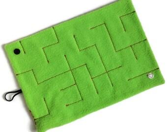 NEW Level 3 marble maze  game, senior sensory toy, large adult fidget, boy girl fabric maze, men maze, women gift, autism alzheimer dementia