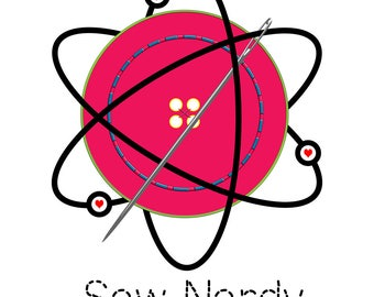 Facebook Design of the week - Sew Nerdy Fans special
