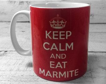 Keep Calm and EAT MARMITE Mug 11oz Cup