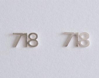 I (718) NYC Earrings