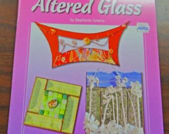 Motif livres - 3 vitrail motif livres - Art du verre altéré - lunatique en filigrane - fantaisie filigrane