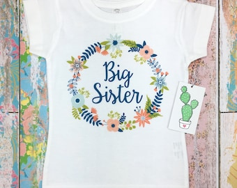 Big Sister Shirt, Big Sister Announcement, Big Sister Gift, Big Sister Outfit, Big Sister Little Sister Outfits, Big Sister Onesie