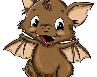Marvin the Bat (DIGI STAMP)