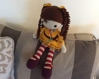 Josephine doll sunflower yellow color