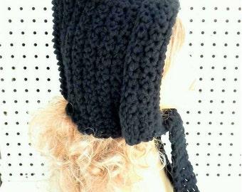 Crochet Hood Pattern, Crochet Womens Hat, Womens Crochet Hat Pattern, Crochet Pattern Hat, Maiden Crochet Pattern