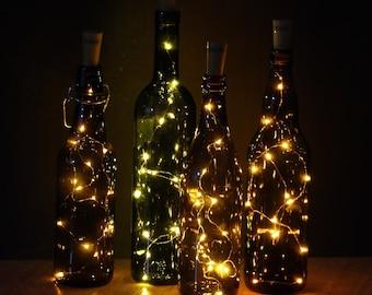 Wine Bottle Light  Best Friend Gift Bottle Light Wine Light