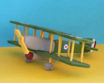 Sopwith Cuckoo Toy Airplane