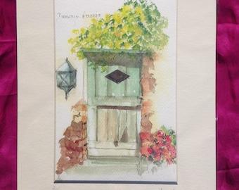 Doorway in Menaggio