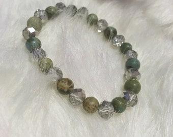 Bracelet of beads, stackable bracelet, stretch bracelet for women, multi beaded bracelet, bracelets on sale, gift idea for her