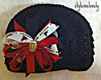 Atlanta Falcons Baby Girl Boutique Boy Crocheted Hat