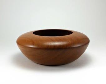 Mahogany Wood Bowl