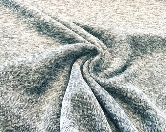 Knitted light grey marl