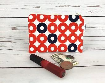 Coin Purse Makeup Bag Zipper Pouch Small Zipper Pouch Zipper Wallet Change Purse Business Card Holder Cosmetic Pouch Handmade Gifts For Her