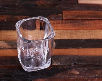 2 oz. FREE Design Support Personalized Custom Shot Glasses (024659)