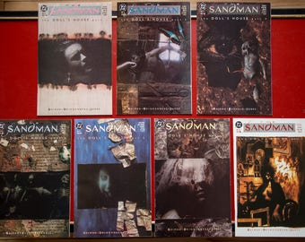 Sandman  lot # 10 # 11 # 12 # 13 # 14 # 15 #16 : NM The Doll's House - Neil Gaiman - DC