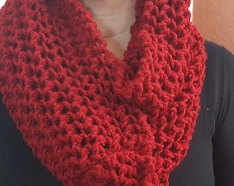 Hand made soft wool scarf