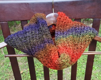 Fall Multi-colored Cowl