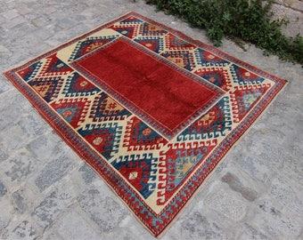Vintage Turkish Konya Nomadic Rug Vintage Turkish Rug, Anatolian Rug, Hand Made Rug, Home Decor