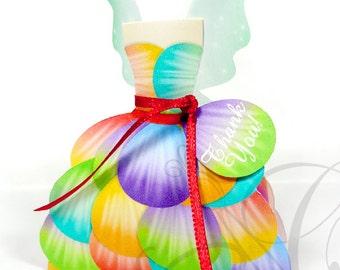 Rainbow Fairy Printable Favor Box, Rainbow Fairy, Fairy Birthday Party, Birthday Party, Instant download