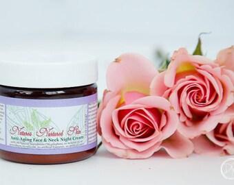 Night cream, face cream, face moisturizer, face lotion, wrinkle cream