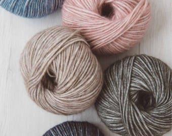 Baby Alpaca Yarn, Alpaca yarn, Wool yarn, Alpaca and Merino yarn, Italian yarn 100 gr/3.5 oz