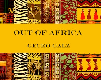 Out Of Africa Mini Paper Pack