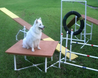 Dog Agility Equipment Construction Instruction Booklet