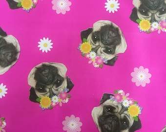 Pugs Gift Wrapping Paper
