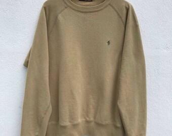 Polo Ralph Lauren Sweatshirt Polo sport Vintage ralph lauren jacket sweater polo sport polo bear small pony hip hop polo casual fit sz S