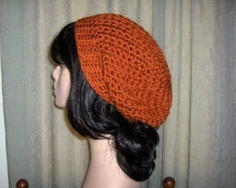 Slouchy Hat Womens Oversized U PICK COLOR Accessories Hat Womens Slouchy Tam Beret Crochet Hat