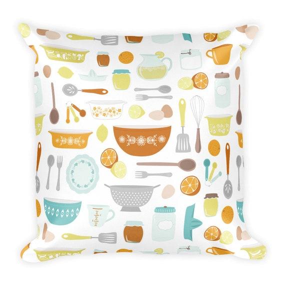 Citrus Kitchen Pillow