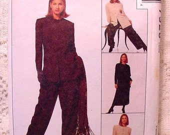 SALE McCalls 7328 Sewing Pattern  Jacket, Tunic, Skirt and Pants Jones of New York Size 16