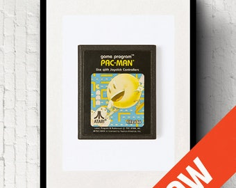 Retro - Pac Man - Photographic Print