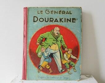 Antique french children's book 1936, La Comtesse de Ségur, Le Général Dourakine, Vintage 1930s, France