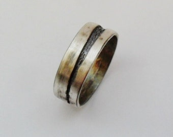 Sterling Silver Mens or Womens Band Ring