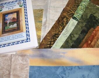 Alpagas sous le sycomore Art couette motif Kit