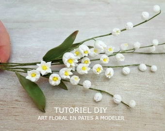 Tutorial Muguets - Make a flowers with a polymer clay