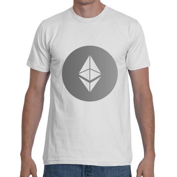 Ethereum Crypto-Currency Digital Coin ETH Short-Sleeve Unisex T-Shirt