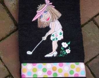 April,the Springtime Golfer