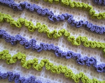 Instant Download - PDF Crochet Pattern - Paige Baby Blanket - permission to sell finished item