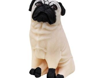 Pug Dog Candle