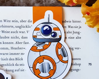 """Magnetic bookmark """"BB8""""-inspired by Star Wars"""