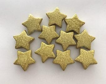 24mm glitter star 20pc